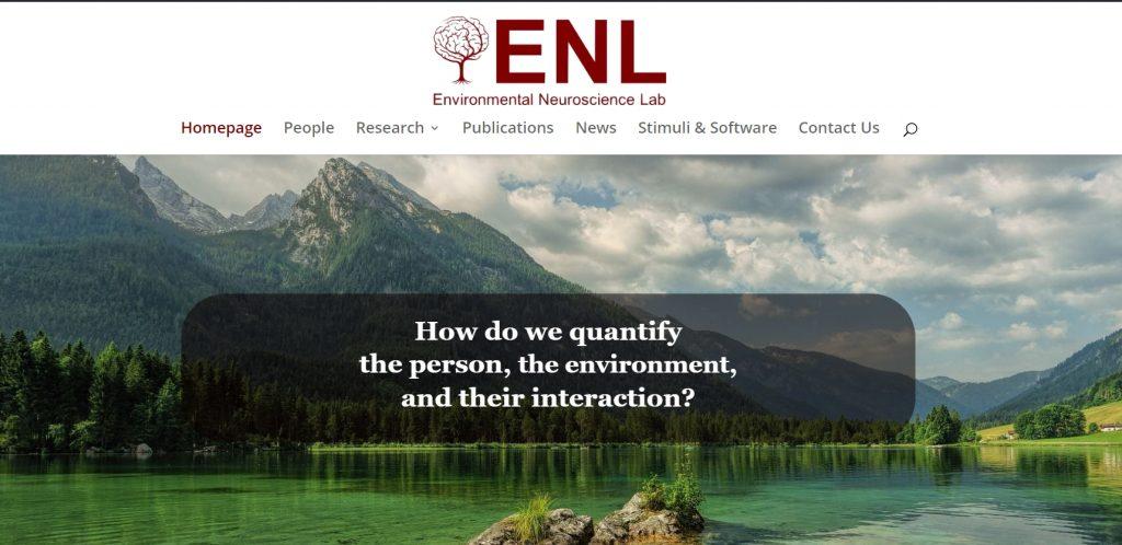 Environmental Neuroscience Lab at the University of Chicago